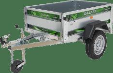 Remolque de carga 750 Kg Daxara 158