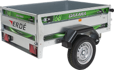 Remolque de carga 155×115 Daxara 168