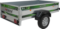 Remolque de carga 225×129 Daxara 238