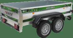 Remolque de carga 2 ejes Daxara 239×4