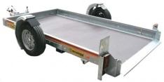 Plataforma abatible Mecanorem electrico 1 eje 1500 Kg