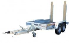 Remolque porta-maquinas Mecanorem Lanza Articulada Larga 3500 Kg
