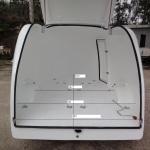 Remolque fibra moto Orca medidas interiores