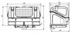 Portaequipajes/Portaperros TowBox V1