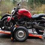 Remolque abatible DUO Ducati