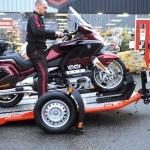 Remolque abatible DUO carga moto