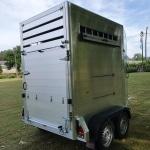 Remolque de caballo aluminio 9