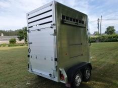 Remolque van 2 caballos aluminio