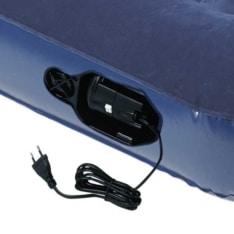Colchón hinchable biplaza eléctrico de camping 185 x 133cm