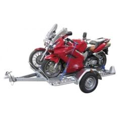 Opción carril para moto remolque chasis multifunción